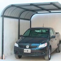 Cocosa cubre cocheras o aleros for Modelos de techos para cocheras